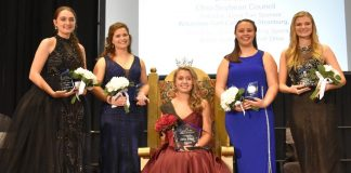 Lora Current, Ohio Fairs' Queen