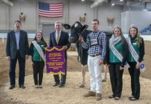 2019 Pennsylvania Farm Show supreme champion dairy cow