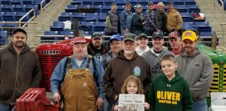 Farm and Dairy at the 103rd PA Farm Show with a group from Washington and Greene Counties.