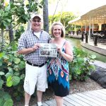 The Weaver's from Howland, OH, vacationing in Aruba with their Farm and Dairy Newspaper.