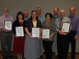 NMC dairy award recipients