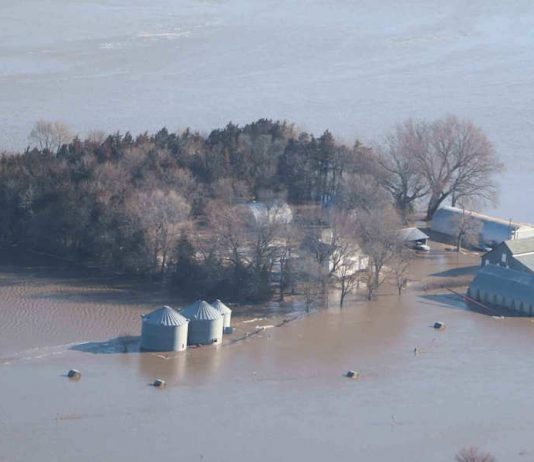 Nebraska farm flooding 2019