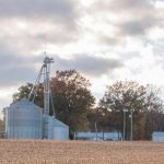 fall harvest grain bins USDA report planting