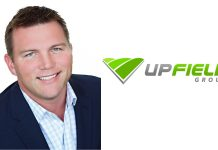 Mark Inkrott and UpField Group logo