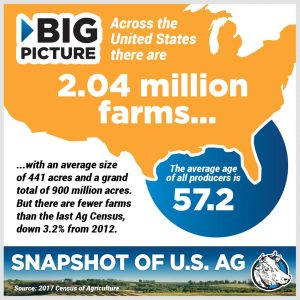 census of agriculture, family farms, Big Ag,
