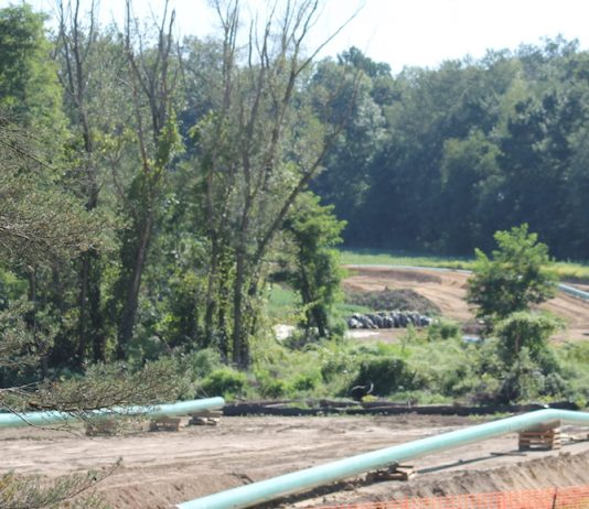 Utica shale oil and gas pipeline