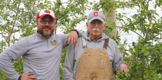 Quarry Hill Orchards Ben and Bill Gammie