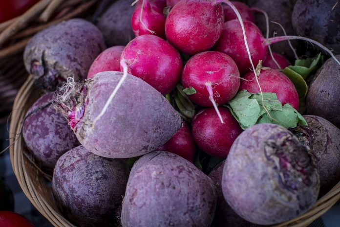 beets and radishes
