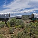 covered wagons