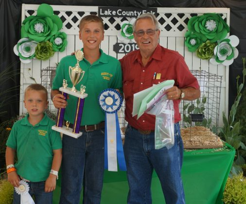 2019 Lake County Fair Grand Champion Poultry Project