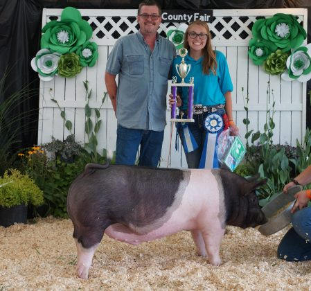 2019 Lake County Fair Grand Champion Hog Project