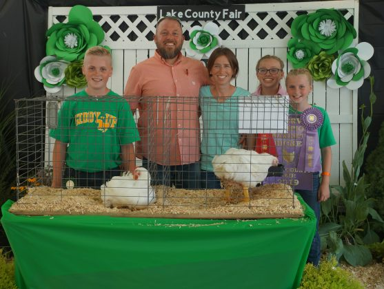 2019 lake County Fair Reserve Champion Chickens