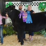 2019 Lake County Fair Grand Champion Market Beef