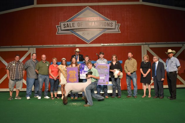 2019 Ohio State Fair Sale Reserve Champion Lamb
