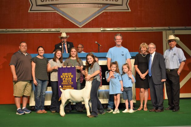 2019 Ohio State Fair Sale Grand Champion Goat