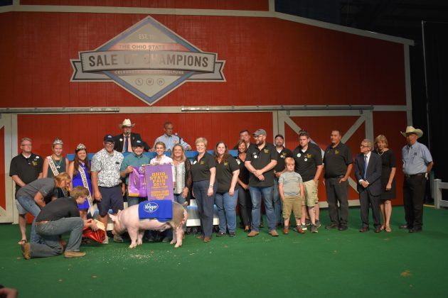 2019 Ohio State Fair Sale Reserve Champion Barrow