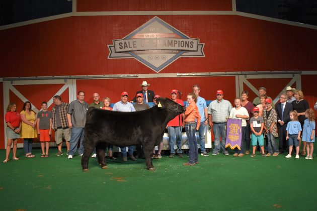 2019 Ohio State Fair Sale Reserve Champion Market Beef