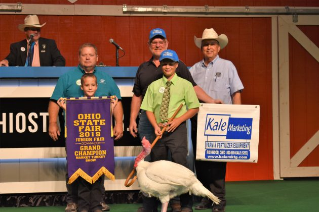2019 Ohio State Fair Sale Grand Champion Market Turkey
