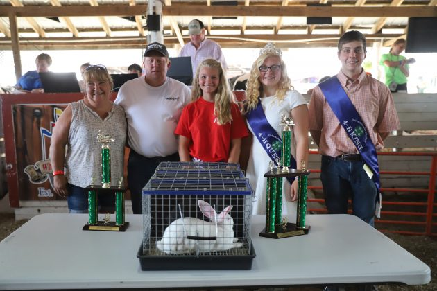 2019 Columbiana County Fair Reserve Champion Fryers