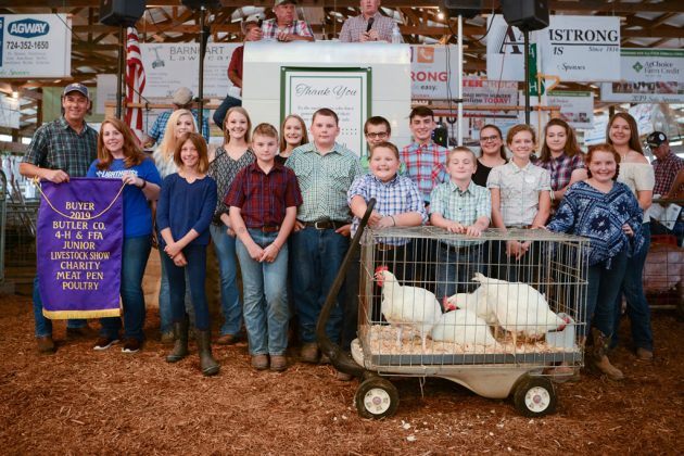 Butler County Fair Charity Chickens