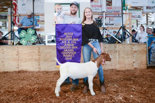 Butler County Fair Grand Champion Goat