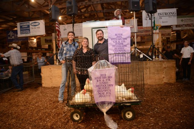 Butler County Fair Reserve Champion Chickens