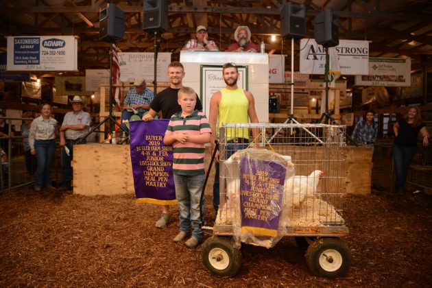 Butler County Fair Grand Champion Chickens