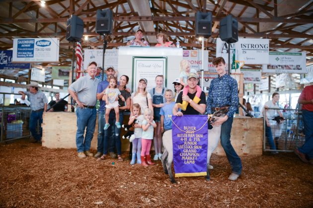 Butler County Fair Grand Champion Lamb