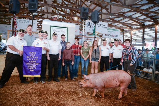 Butler County Fair Charity Hog
