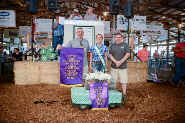 Butler County Fair Grand Champion Rabbits