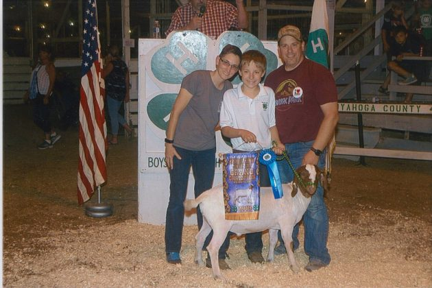 Cuyahoga County Fair Grand Champion Goat