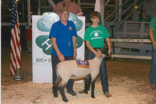 Cuyahoga County Fair Grand Champion Lamb