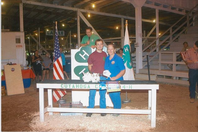 Cuyahoga County Fair Grand Champion Pen of 2 Rabbits