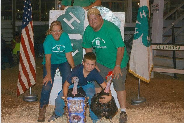 Cuyahoga County Fair Grand Champion Turkeys