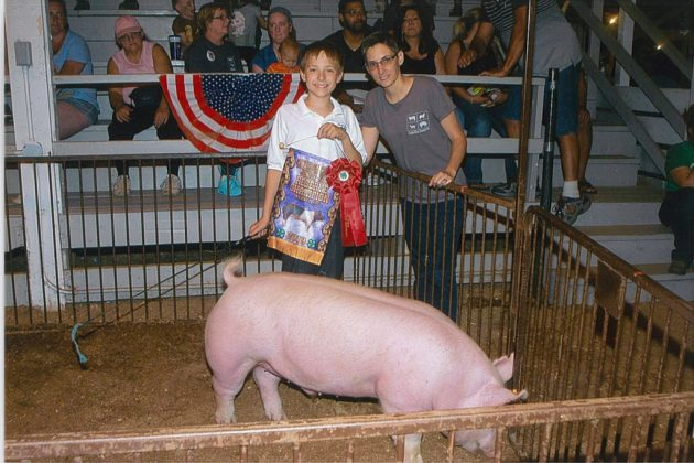 Cuyahoga County Fair Reserve Champion Hog