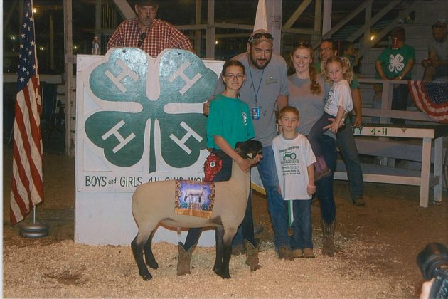 Cuyahoga County Fair Reserve Champion Lamb