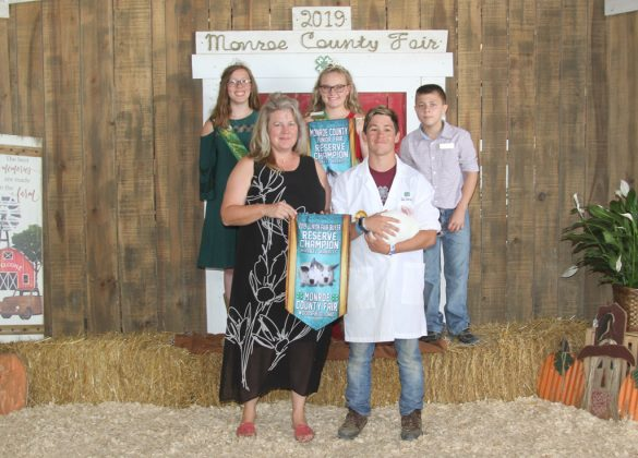 Monroe County Fair Reserve Champion Rabbits