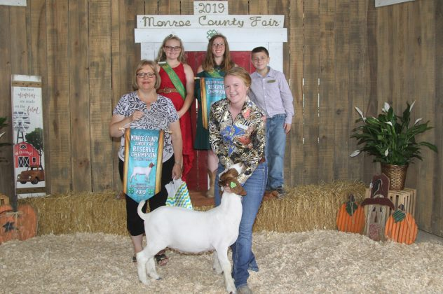 Monroe County Fair Reserve Champion GoatMonroe County Fair Reserve Champion Goat