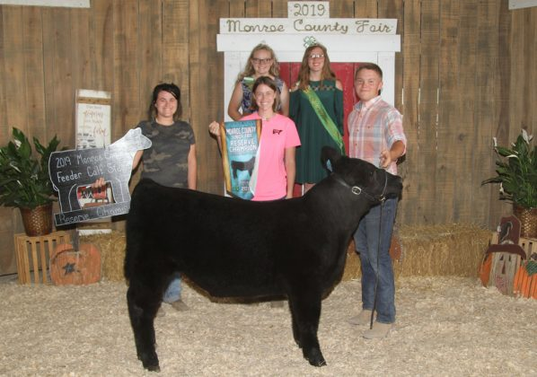 Monroe County Fair Reserve Champion Feeder Calf