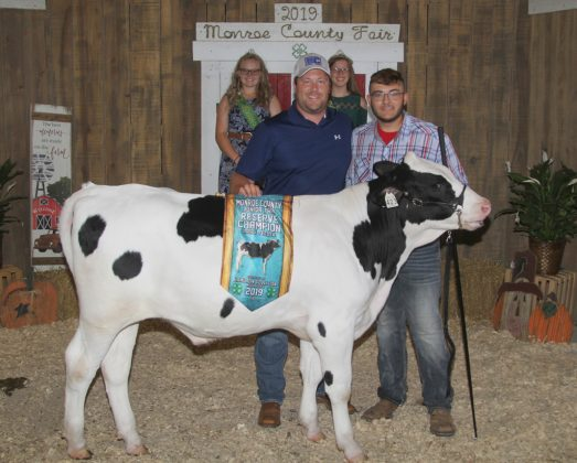 Monroe County Fair Reserve Champion Dairy Feeder
