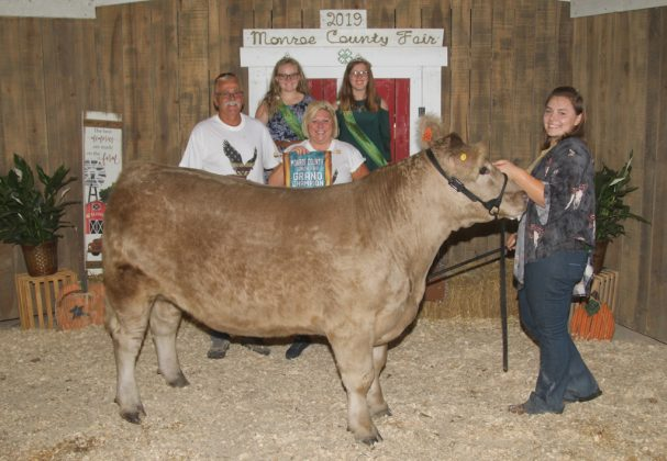 Monroe County Fair Grand Champion Steer