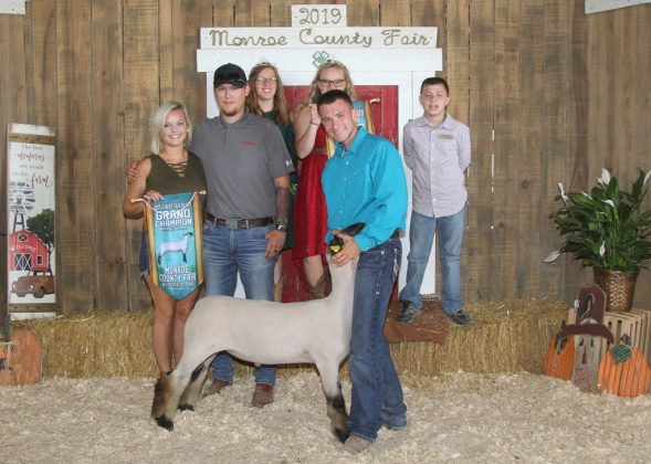 Monroe County Fair Grand Champion Lamb