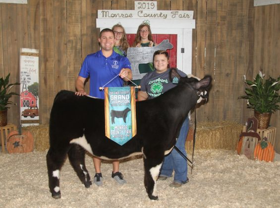 Monroe County Fair Grand Champion Feeder Calf