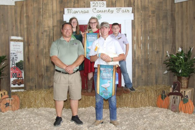 Monroe County Fair Grand Champion Duck