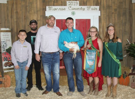 Monroe County Fair Grand Champion Chicken