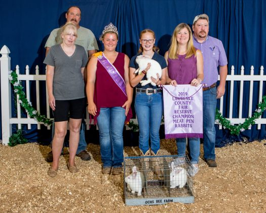 Lawrence County Fair Reserve Champion Rabbits
