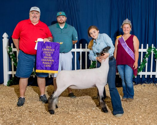 Lawrence County Fair Grand Champion Lamb