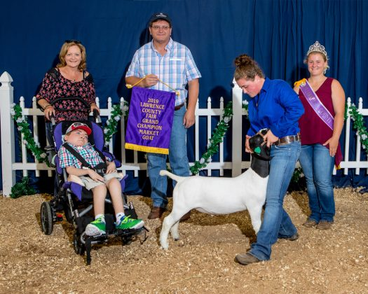 Lawrence County Fair Grand Champion Goat