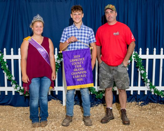 Lawrence County Fair Grand Champion Carcass Hog