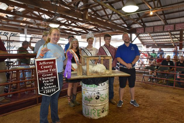 Jefferson County Fair Grand Champion Chickens